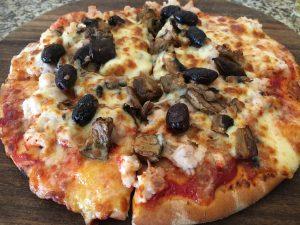 ワニのピザ
